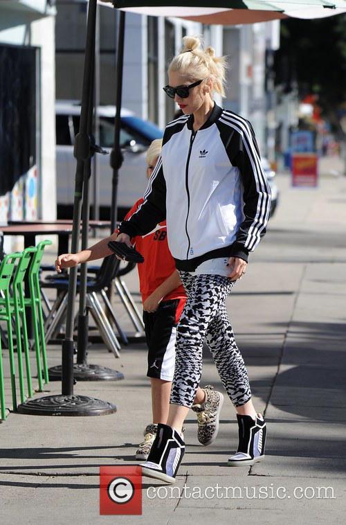 Gwen Stefani and Kingston Rossdale 6