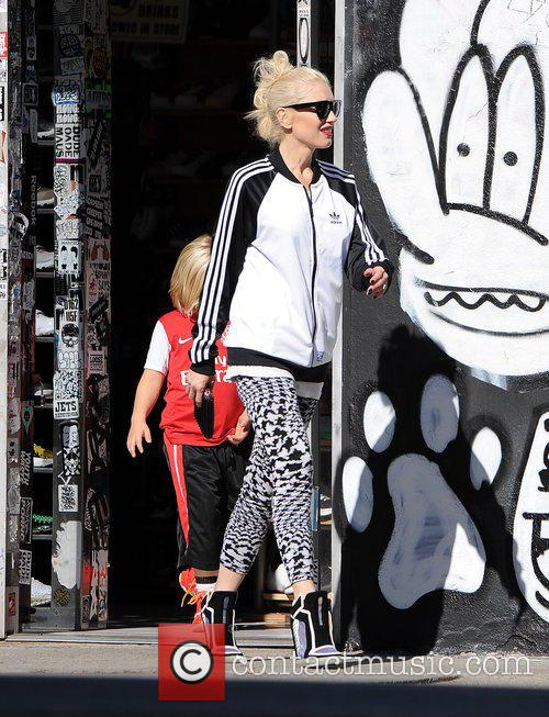 Gwen Stefani and Zuma Rossdale 8