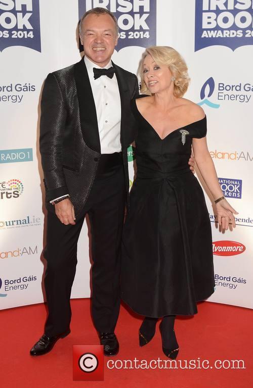 Graham Norton and Cathy Kelly 2