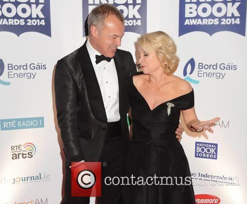 Graham Norton and Cathy Kelly 3