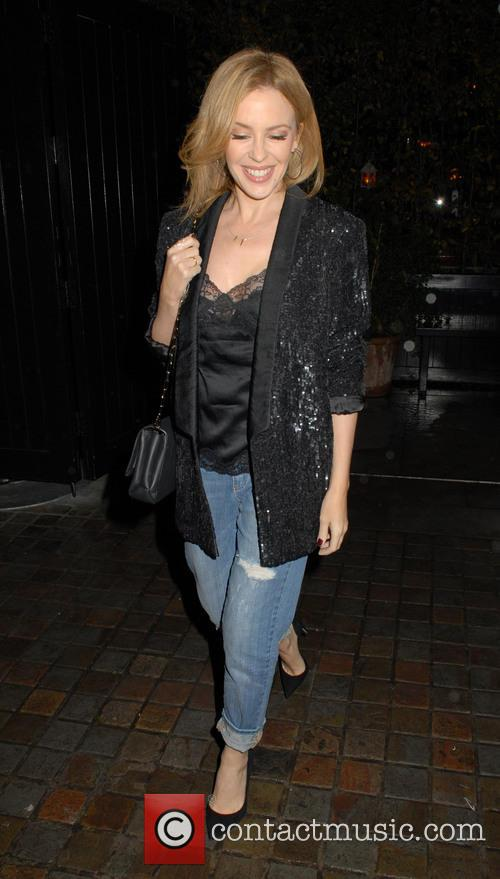 Kylie Minogue at Chiltern Firehouse
