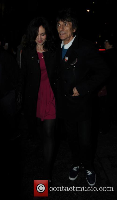 Ronnie Wood and Sally Humphreys 8