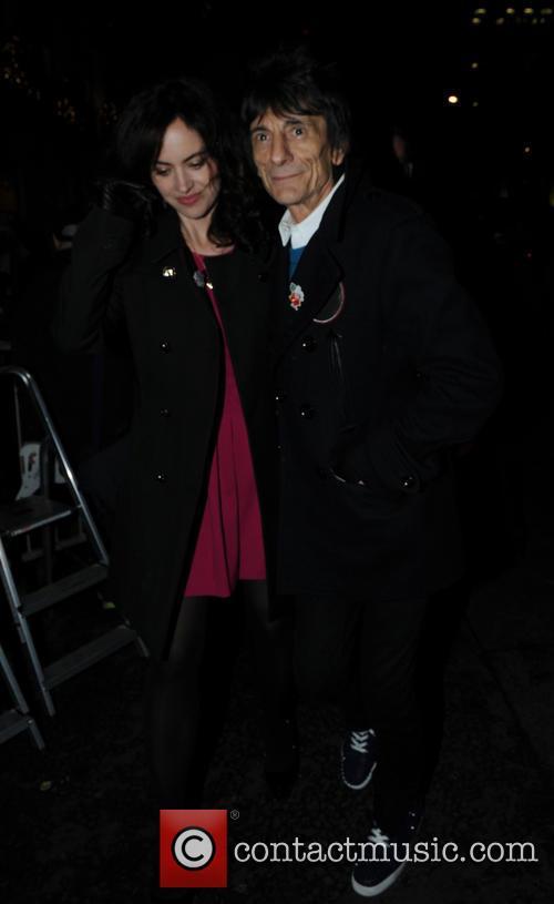 Ronnie Wood and Sally Humphreys 1