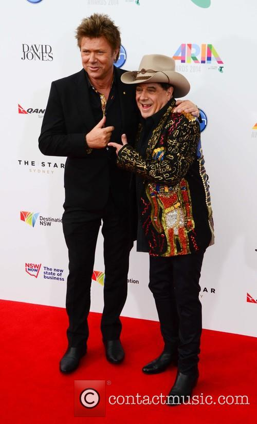 Richard Wilkins and Molly Meldrum 2