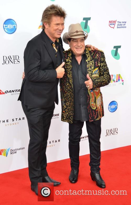 Richard Wilkins and Molly Meldrum 1