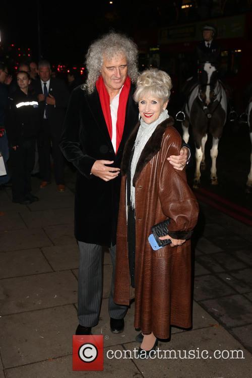 Brian May and Anita Dobson 4
