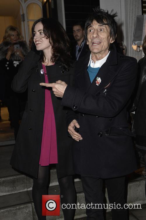 Sally Humphreys and Ronnie Wood 2