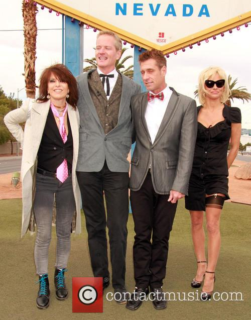 Chrissie Hynde, Dan Matthews, Jack Ryan and Pamela Anderson 5