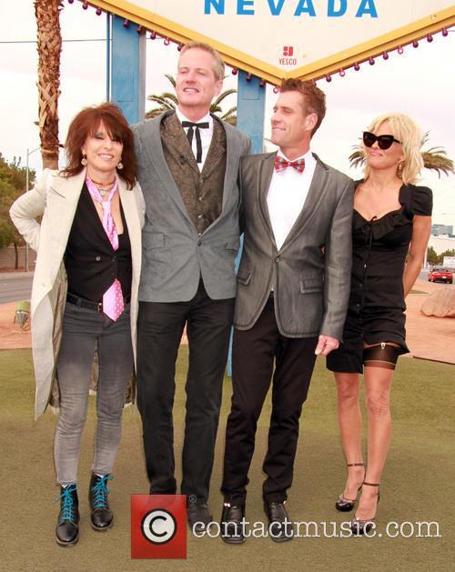 Chrissie Hynde, Dan Matthews, Jack Ryan and Pamela Anderson 6