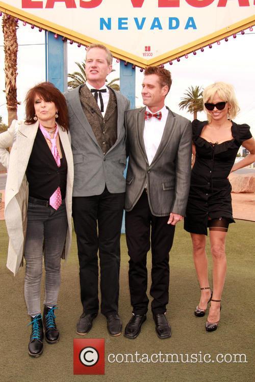 Chrissie Hynde, Dan Matthews, Jack Ryan and Pamela Anderson 7
