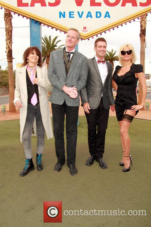 Chrissie Hynde, Dan Matthews, Jack Ryan and Pamela Anderson 10