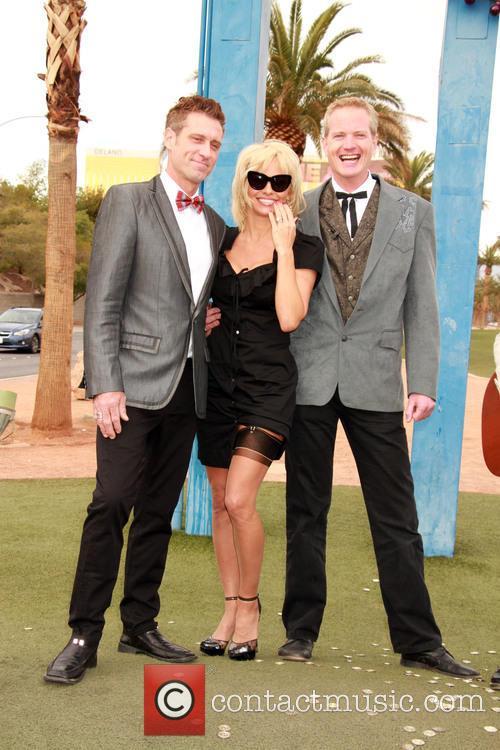 Jack Ryan, Pamela Anderson and Dan Matthews 5