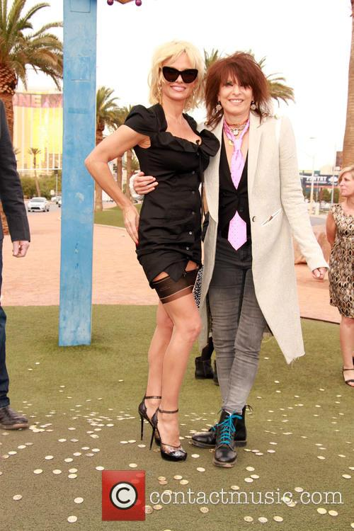 Pamela Anderson and Chrissie Hynde 6