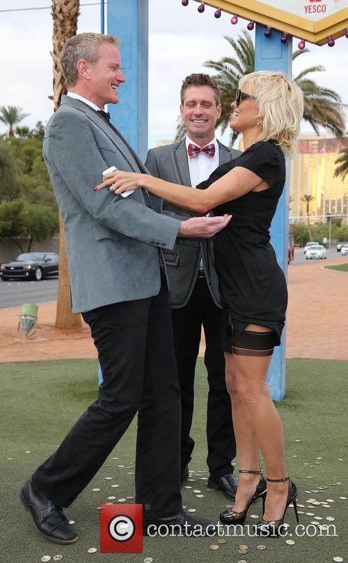 Dan Mathews, Jack Ryan and Pamela Anderson 1