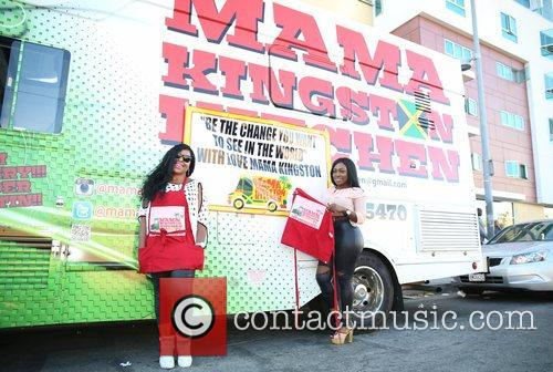 Sean Kingston, Kanema Kingston, Mama Kingston and Soulja Boy 8