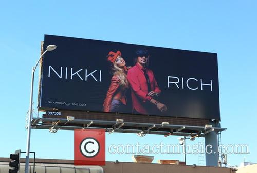 Nikki Rich new billboard campaign debuts on Sunset...