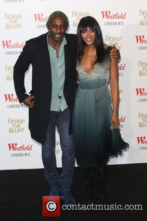 Idris Elba and Naomi Campbell 4