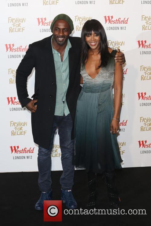 Idris Elba and Naomi Campbell 5