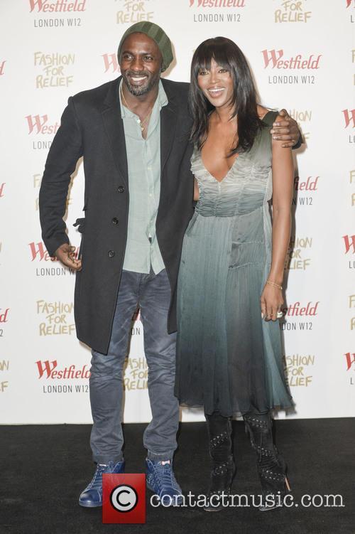 Idris Elba and Naomi Campbell 8
