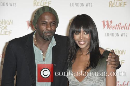 Idris Elba and Naomi Campbell 9