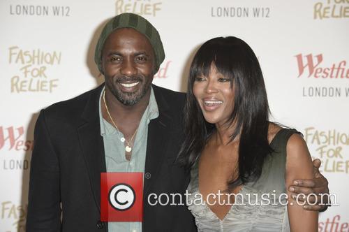 Idris Elba and Naomi Campbell 1