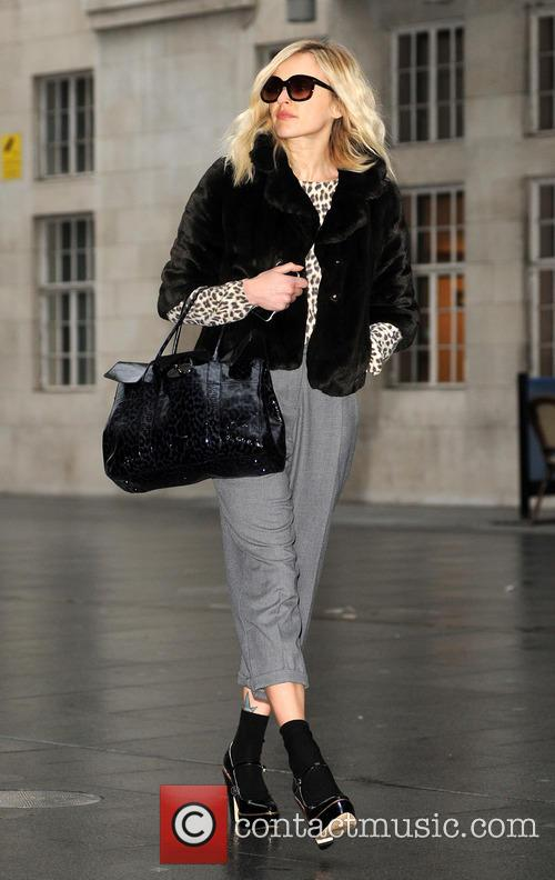 Fearne Cotton arrives at the BBC Radio 1studios