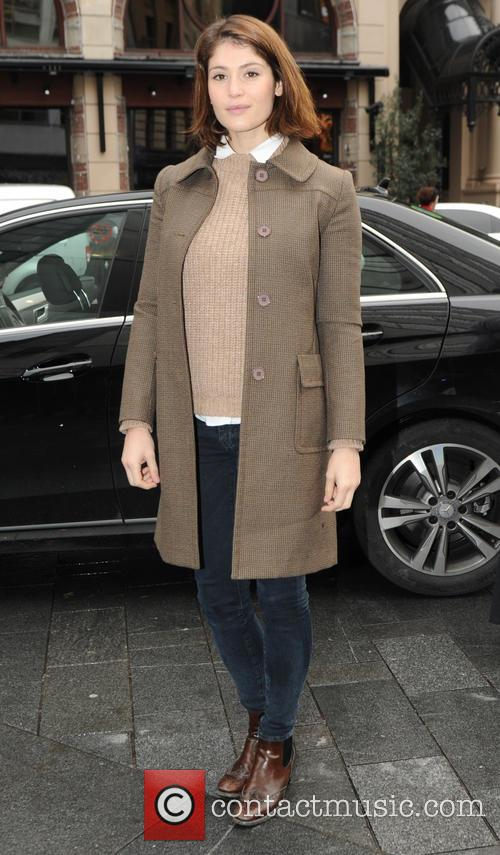Gemma Arterton out and about