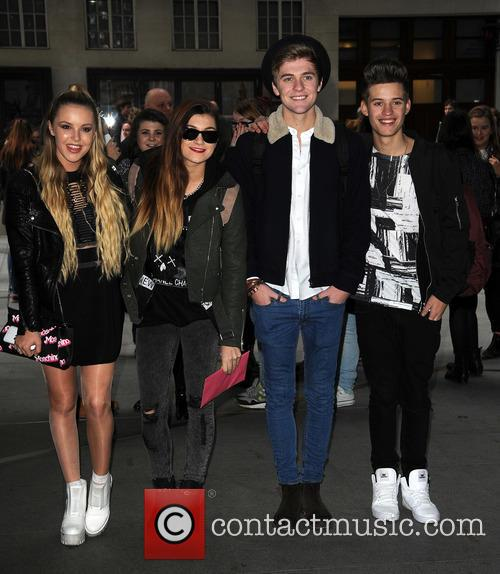 Betsy Blue, Parisa Tarjomani, Charlie George, Mikey Bromley and Only The Young 4