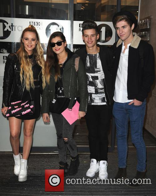 Betsy Blue, Parisa Tarjomani, Charlie George, Mikey Bromley and Only The Young 11