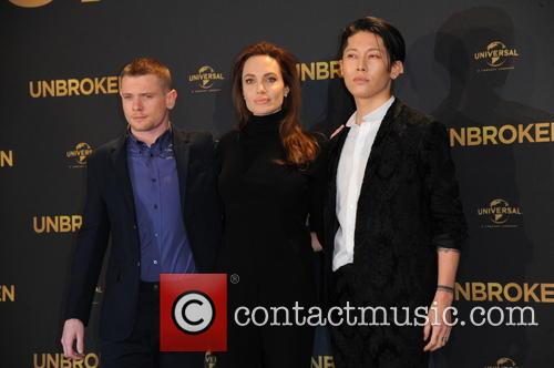 Jack O Connell, Angelina Jolie and Miyavi 6