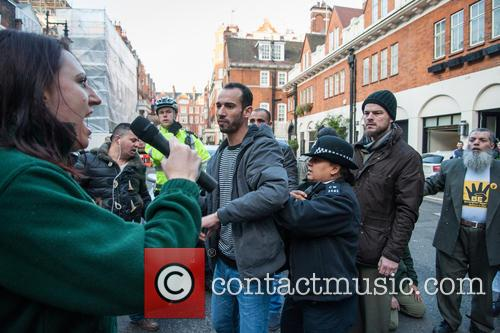 Jayda Fransen, Britian First, Anjem Choudary and London 7