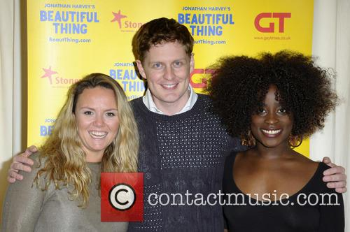 Charlie Brooks, Gerard Mccarthy and Vanessa Babirye 8