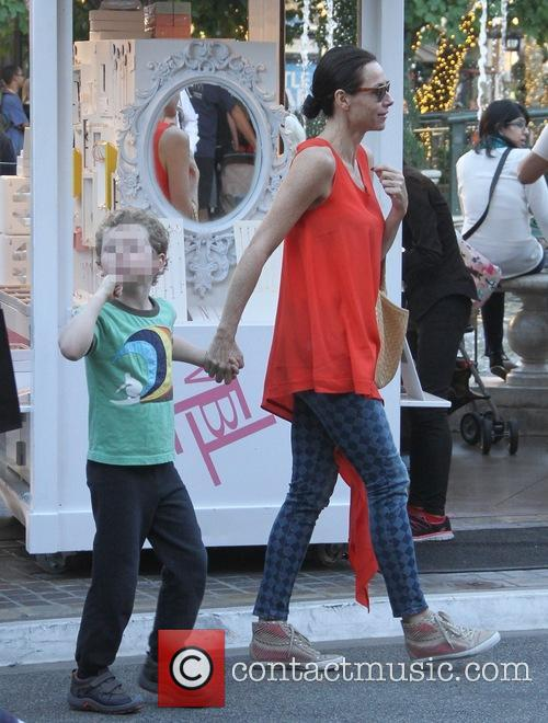 Minnie Driver and Son Henry 2