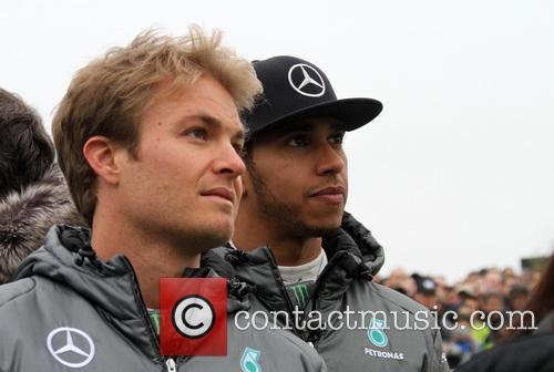 Nico Rosberg and Lewis Hamilton 2