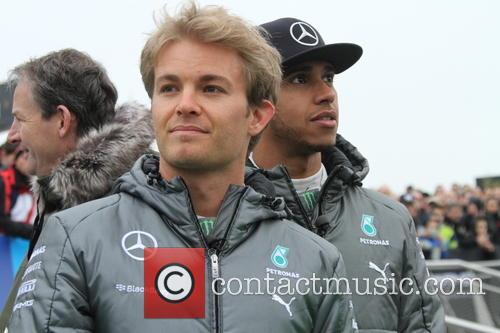 Nico Rosberg and Lewis Hamilton 3