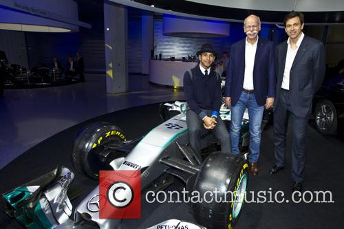 Mercedes F1 World Championship title party