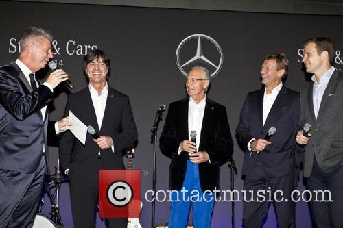 Heiko Wasser, Joachim Loew, Joachim Löw, Franz Beckenbauer, Guido Buchwald and Oliver Bierhoff 3