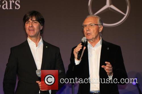 Joachim Loew, Joachim Löw and Franz Beckenbauer 2