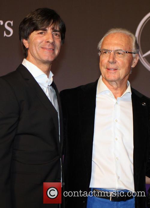 Joachim Loew, Joachim Löw and Franz Beckenbauer 1