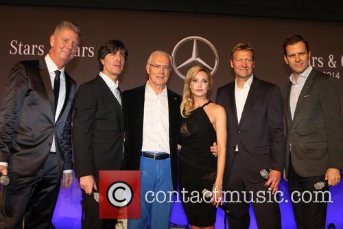 Joachim Loew, Joachim Löw, Franz Beckenbauer, Sarah Valentina Winkhaus and Guido Buchwald 4