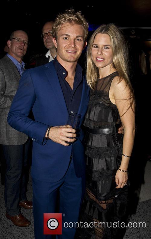 Nico Rosberg and Vivian Rosberg 2