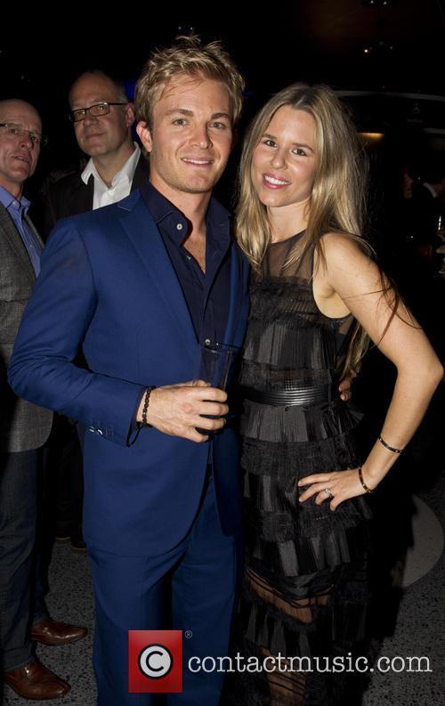 Nico Rosberg and Vivian Rosberg 1