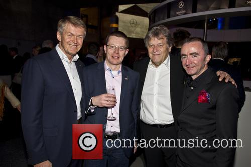 Paddy Lowe, Norbert Haug and Dr. Thomas Weber 7