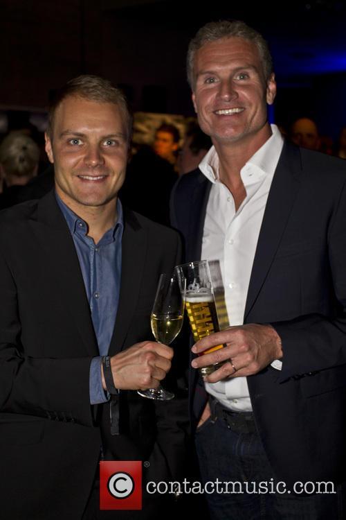 Valtteri Bottas and David Coulthard 9