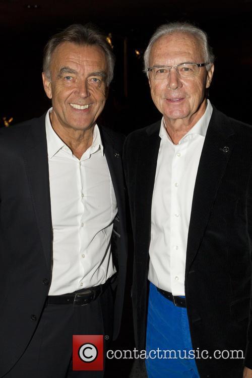 Wolfgang Schattling and Franz Beckenbauer 3