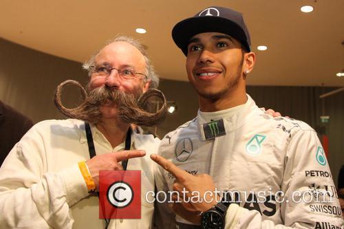 Lewis Hamilton and Juergen Burghardt 5