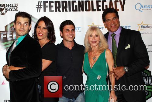 Lou Ferrigno, Brent Ferrigno, Carla Ferrigno and Shanna Ferrigno 3