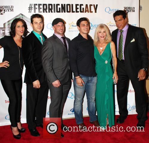 Shanna Ferrigno, Brent Ferrigno, Carla Ferrigno and Lou Ferrigno 1