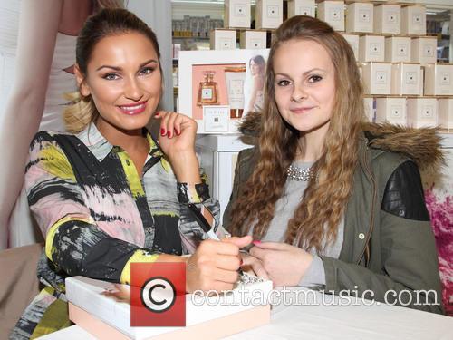 Sam Faiers 'La Bella' fragrance launch