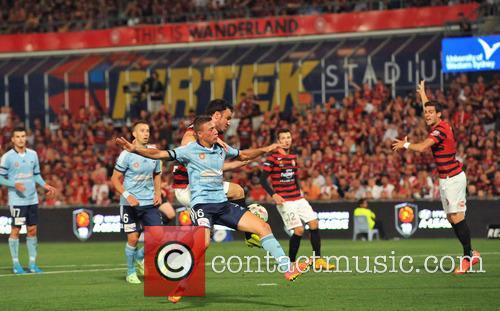 Mark Bridge Sets Up Goal For Tomi Juric Sydney Fc V Western Sydn 2